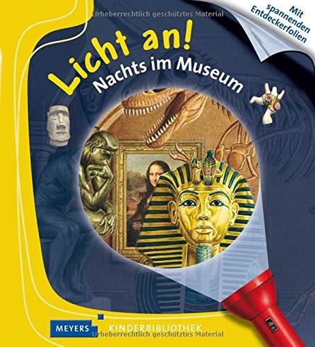 Nachts im Museum: Licht an! 33 (Licht an! Die Reihe mit der magischen Taschenlampe, Band 33)