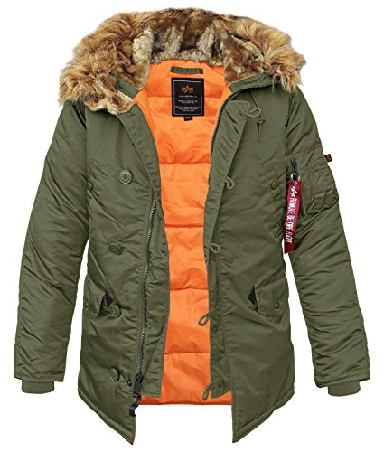 Alpha Industries N3B VF 59 dark green - S