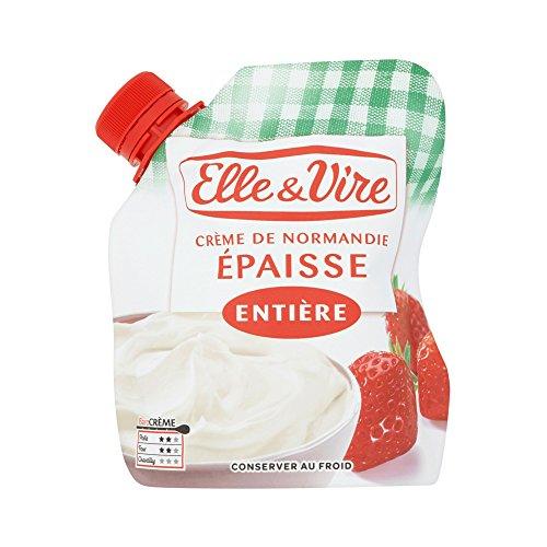 Elle & Vire Crème Entière Epaisse Poche Souple 324 g