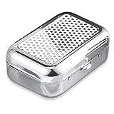 Gresunny Mini cendrier Portable cendrier de Poche en Acier Inoxydable cendriers à Cigarettes avec...