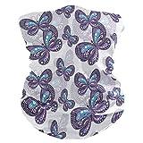 Arte Abstracto Mariposa Animal PañueloPolaina Facial Mascara Bandana Cintas de Pelo Mujeres Hombres Pasamontañas Diademas Headwraps para Deportes
