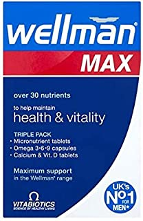 Vitabiotics Wellman Max - 84 Tablets - 2 Pack