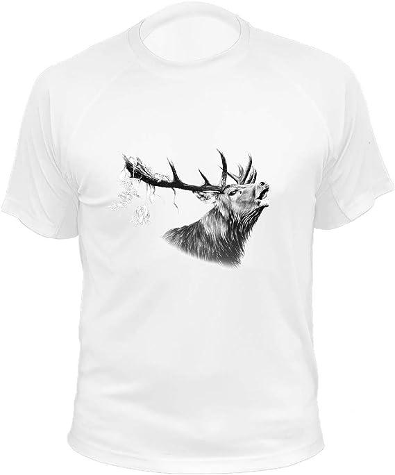 AtooDog Maglietta da Caccia Cervo