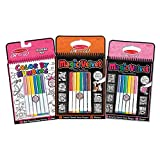 Melissa & Doug Color by Numbers & Magic Velvet Activity Pad 3 Pack - Unicorns, Butterflies and Puppies