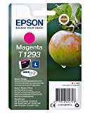 Epson T1293 - Cartucho de tinta para Stylus SX230, magenta válido para los modelos WorkForce, Stylus, Stylus Office y otros, Ya disponible en Dash Replenishment, Normal