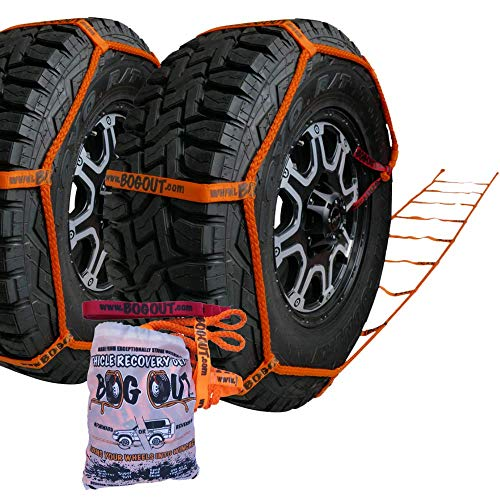 New. Vehicle Recovery Kit with Strap. Twin Pack by BOG Out. 4x4 Recovery Gear for Offroad Recovery. Turn Your Wheels into a Winch.