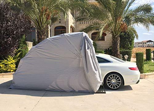 Ikuby SUV Carport, Car Shelter, Car Canopy, Car Garage, Car shed, Car House, Car Park, Foldable, Retractable, Lockable, Durable Shelter …