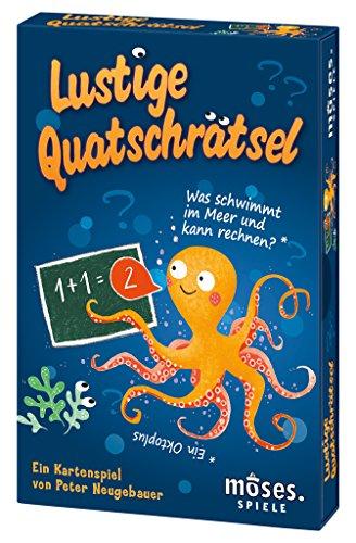 moses. Lustige Quatschrätsel   Kartenspiel   Worträtsel für Kinder ab 6 Jahren