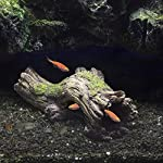 Hygger RéSine pour DéCoration Fish Tank, RéSine Naufrage Bois Aquarium Grotte Aquarium Decoration Cave Artificielles en pour Aquarium Ornements DéCor Accueil Jardin Plantes de Jardin (Bois) #1