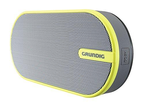 Grundig GSB 150 Bluetooth Lautsprecher grau/gelb