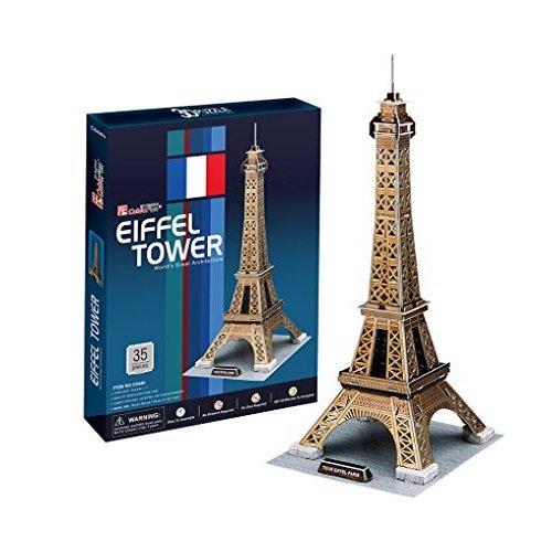 Cubic Fun-C044h Puzzle 3D Torre Eiffel (771C044)