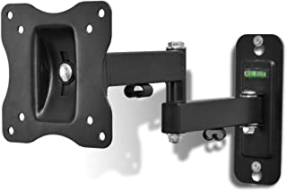 "Sponsored Ad – VidaHome Single-armed Swivel Tilt Wall Mounted TV Bracket 100x100mm 10""-23"""