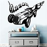 wZUN Vinilo Autoadhesivo Personalizado a Prueba de Agua calcomanía de Pared Pegatina Decorativa Mural para habitación de niños 36X48cm