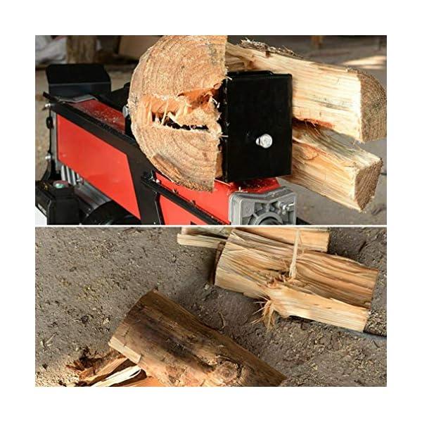 Compacta de 7 toneladas eléctrico Log Splitter Fast máquina de 2200W de potencia hidráulica resistente Cortadores de…