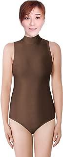 Best black turtleneck leotard sleeveless Reviews