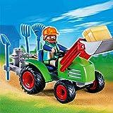 Playmobil - Agriculteur avec Tracteur - 4143