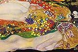 1art1 Gustav Klimt - Wasserschlangen II, 1904-1907 XXL