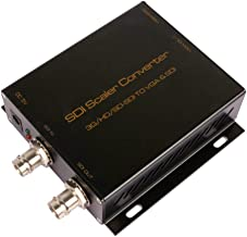 WAZMM SDI to VGA Converter with Audio Extractor SDI to HDMI Converter,Support Full HD,3G,HD,SD-SDI