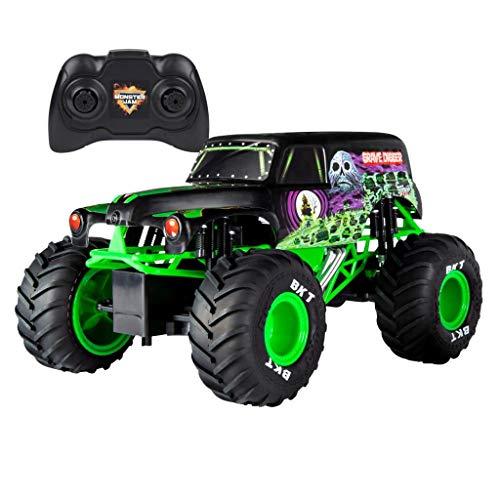 Monster Jam Camión de Control Remoto Oficial de Grave Digger Escala 1:15 para Edades de 3 años en adelante