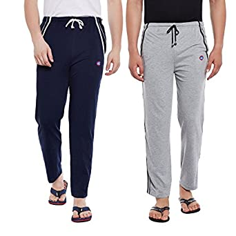VIMAL JONNEY Men's Regular Fit Track pants(Pack of 2)