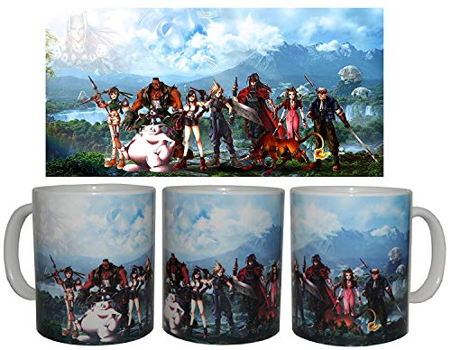 TusPersonalizables.com Taza Final Fantasy VII + Chapa