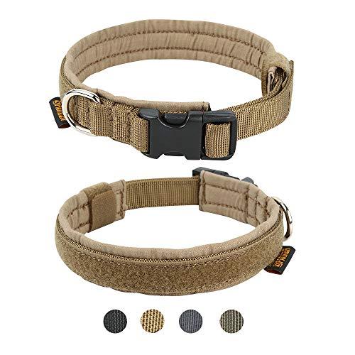 EXCELLENT ELITE SPANKER Excelente Collar de Perro táctico de Entrenamiento Militar de Nailon Ajustable para Perros pequeños