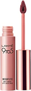 Lakme 9 to 5 Weightless Mousse Lip & Cheek Color, Rose Touch, 9 gm