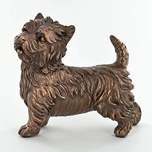 Seven Secrets West Highland Terrier Figurine Statue Bronzed Westie Sculpture Dog Ornament | 01020