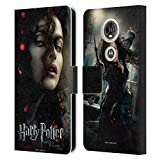 Officiel Harry Potter Bellatrix Lestrange Deathly Hallows VIII Coque en Cuir à Portefeuille...