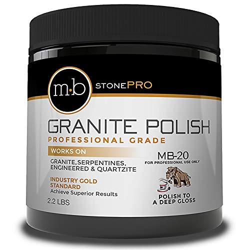 granite polishers MB-20 Stone Granite Polishing Compound - 2.2lb