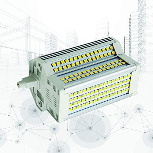 50W R7s LED Bombillas de maíz 6000K 118MM Regulable Reemplazo de Doble Extremo Equivalente 500W Reflector halógeno