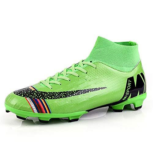 YSZDM Mans Voetbalschoenen, Mode Ademende Voetbal Schoenen Anti-lip Draag Training Sneakers voor Indoor Outdoor Kunstgras