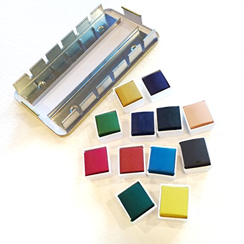Field Artist Replacement Half PAN Watercolors Includes Insert Tray