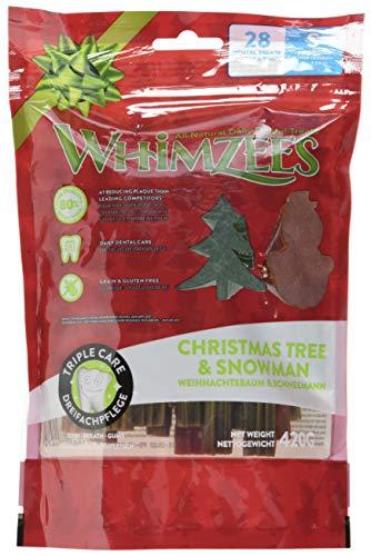 Whimzees Weihnachtsformen Natürlicher Zahnpflegesnack Für Hunde, Gr. S Stück à 7,5g