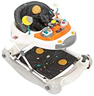Give your little explorer a cosmic experience on board our out of this world 2 in 1 space shuttle walker/rocker Suitable from approx. 6-24 months with 3 height positions and flat fold for storage Removable padded seat and foot pad Converts easily fro...