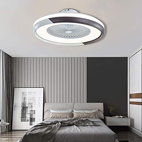Aohuada Flybear 60W Moderne led Deckenlampe Deckenventilator mit Beleuchtung Einstellbare Windgeschwindigkei Dimmbar mit Fernbedienung für Schlafzimmer Wohnzimmer Esszimmer