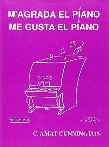 Me gusta el piano / M'agrada el piano. Vol. 2