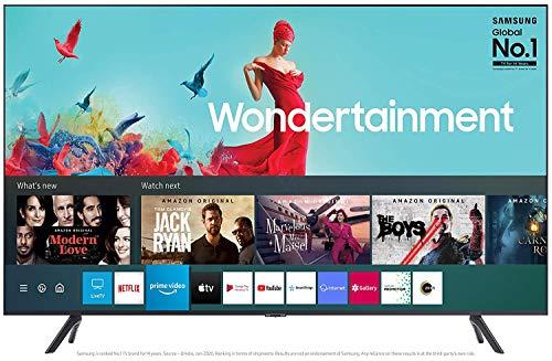 Samsung 163 cm (65 Inches) Wondertainment Series Ultra HD LED Smart TV UA65TUE60AKXXL (Titan Gray) (2020 model)