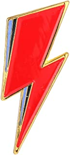 pretty.lovable.mishmash David Bowie Aladdin Sane Fulmine Pin Ziggy Stardust Spilla Smaltata Badge
