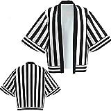 UKKO Kimono Mujer Kimono Demonio Slayer Yukata Cosplay Mujeres/Hombres Cardigan Verano Casual Ropa Ropa Bosque Kimono Camisa Streetwear Cosplay