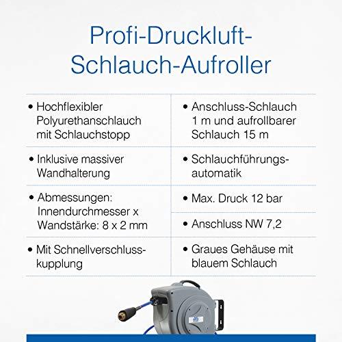 as-Schwabe Druckluftschlauchtrommel 15 m - 3