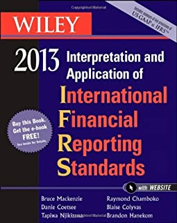 Wiley IFRS 2013: Interpretation and Application of International Financial Reporting Standards by Bruce Mackenzie Danie Co...