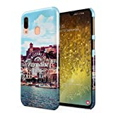 Welcome To Paradise Ibiza San Antonio Eivissa Tropical Chill Island Hard Thin Plastic Phone Case Cover For Samsung Galaxy A40