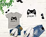 Player 1 and player 2 Father Baby Matching Outfits, Matching Dad and Baby Shirts, daddy and me outfits, fathers day shirts