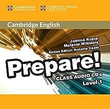 Cambridge English Prepare! Level 1 Class Audio CDs (2)