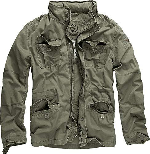 Brandit Britannia Jacket Olive Size M, Olive, Size Medium