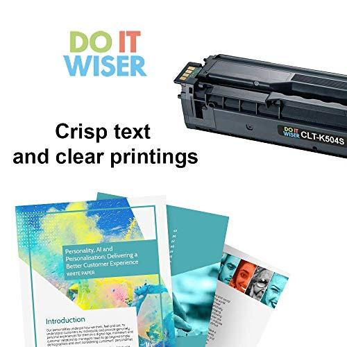 Do it Wiser Compatible Toner Cartridge Replacement for Samsung CLT-K504S CLP-415 CLP-415N CLP-415NW CLX-4195FW CLX-4195N CLP-470 CLP-475 CLX-4170 SL-C1810W Xpress C1860FW - Black Photo #4