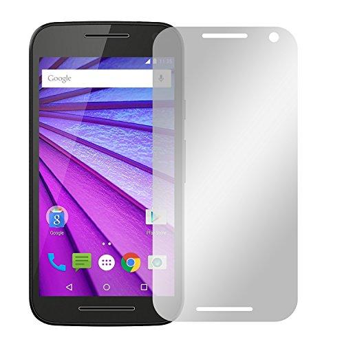 Slabo 4 x Bildschirmschutzfolie für Motorola Moto G (3. Generation) Bildschirmfolie Schutzfolie Folie Zubehör Crystal Clear KLAR