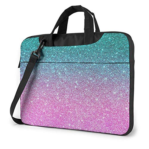 Laptop Tote Bag, Star Glitters Durable Briefcase Tablet Sleeve Cover with Handle for 13-15.6in Laptop for Women