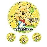 Tortenaufleger Geburtstag Tortenbild Zuckerbild Oblate Motiv: Disney Winnie Pooh (Zuckerpapier)